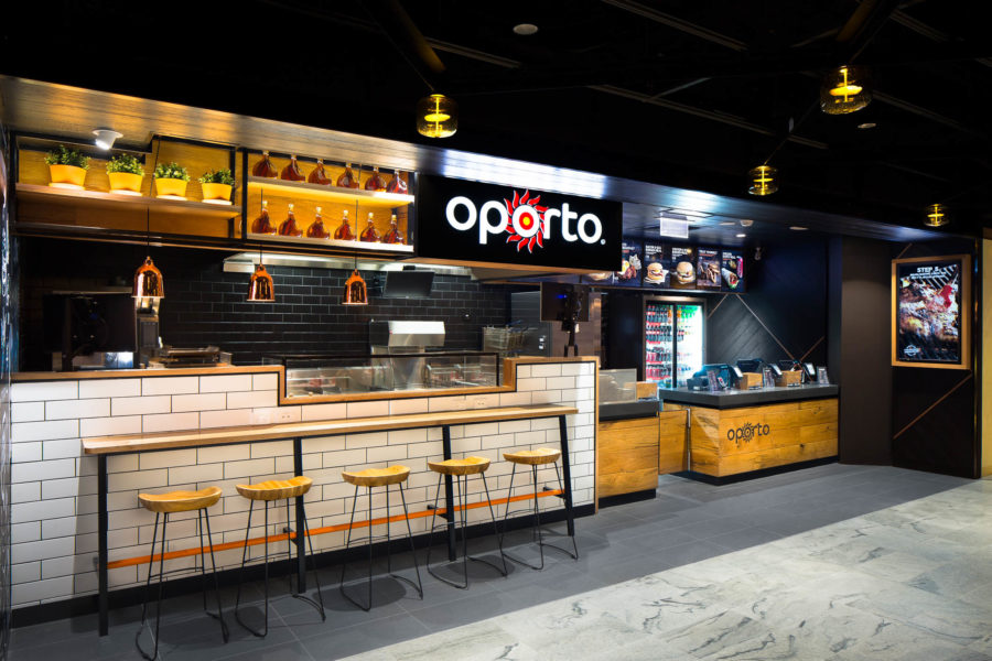 NEW Oporto Shopfront for Kawana Shopping World