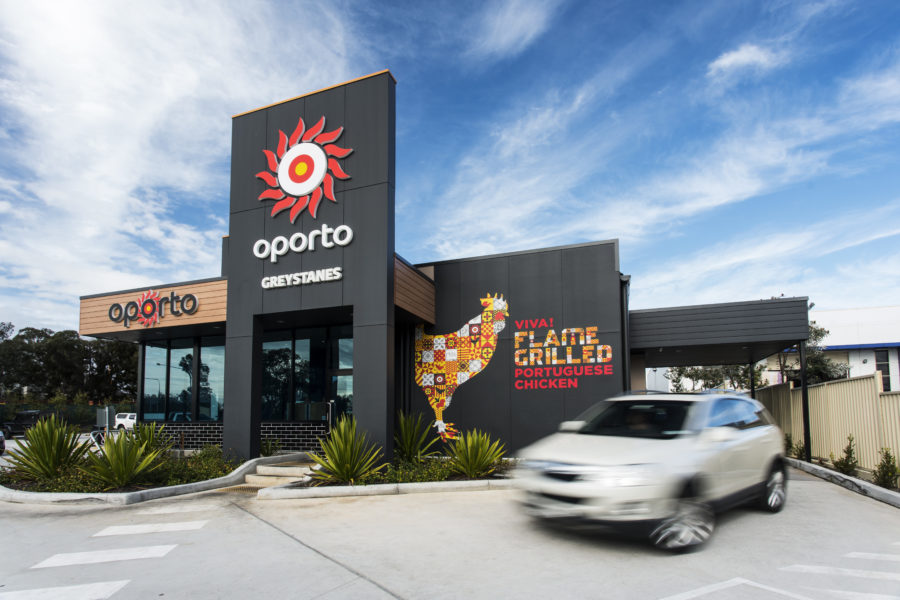 NEW Oporto Drive Thru Restaurant for Kelso NSW