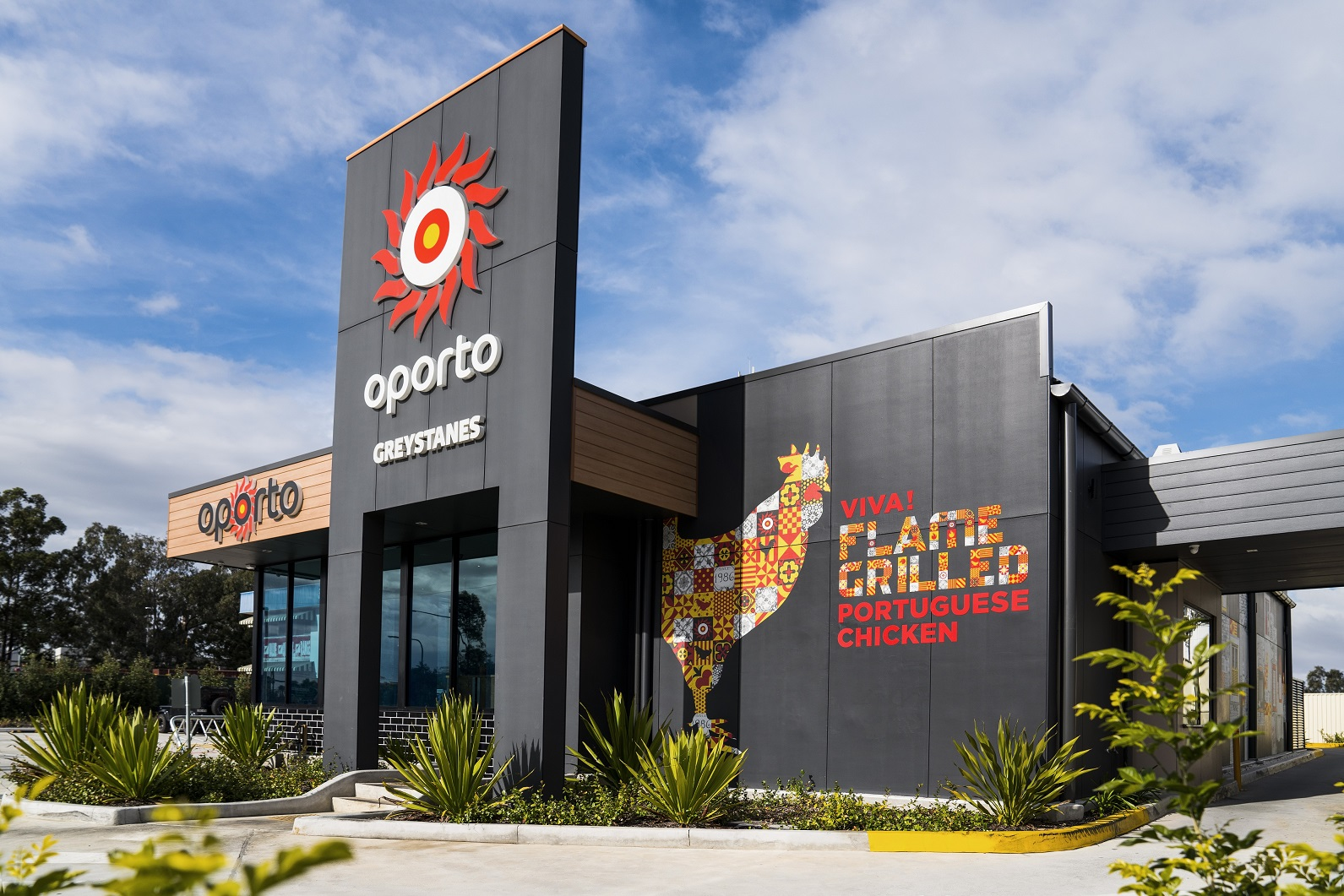 NEW Oporto Drive Thru Restaurant for Berrinba QLD