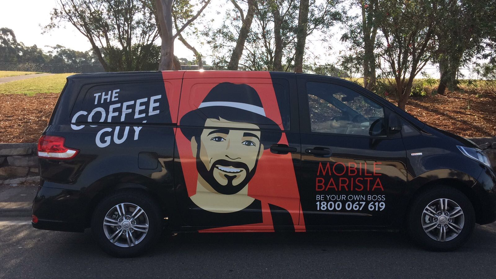 Be That Coffee Guy! NEW Coffee Guy mobile franchise available in ACT!