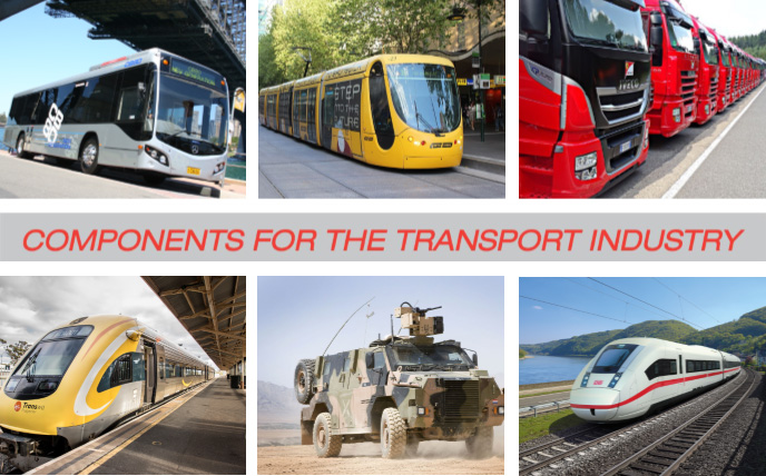 INDUSTRY LEADING COMPONENT IMPORTER/SUPPLIER TO THE NATIONAL TRANSPORT INDUSTRY