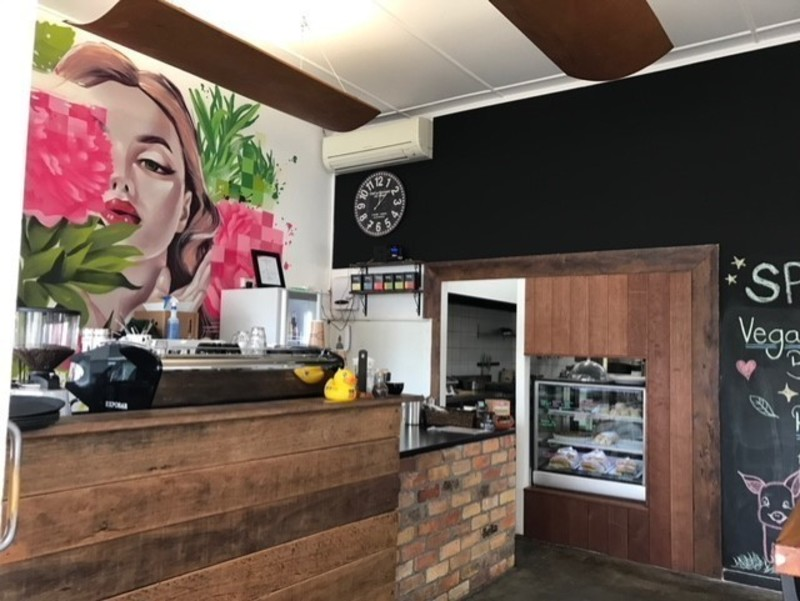 Trendy Alternative Cafe