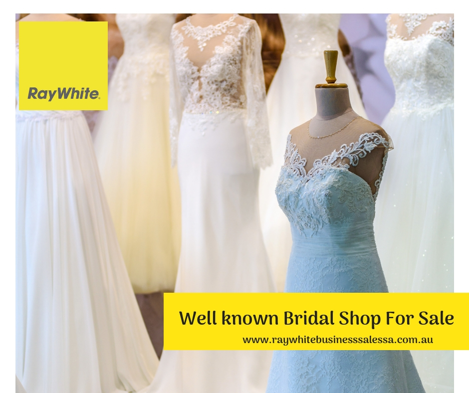 Under-management wedding gown business for Sale - Adelaide