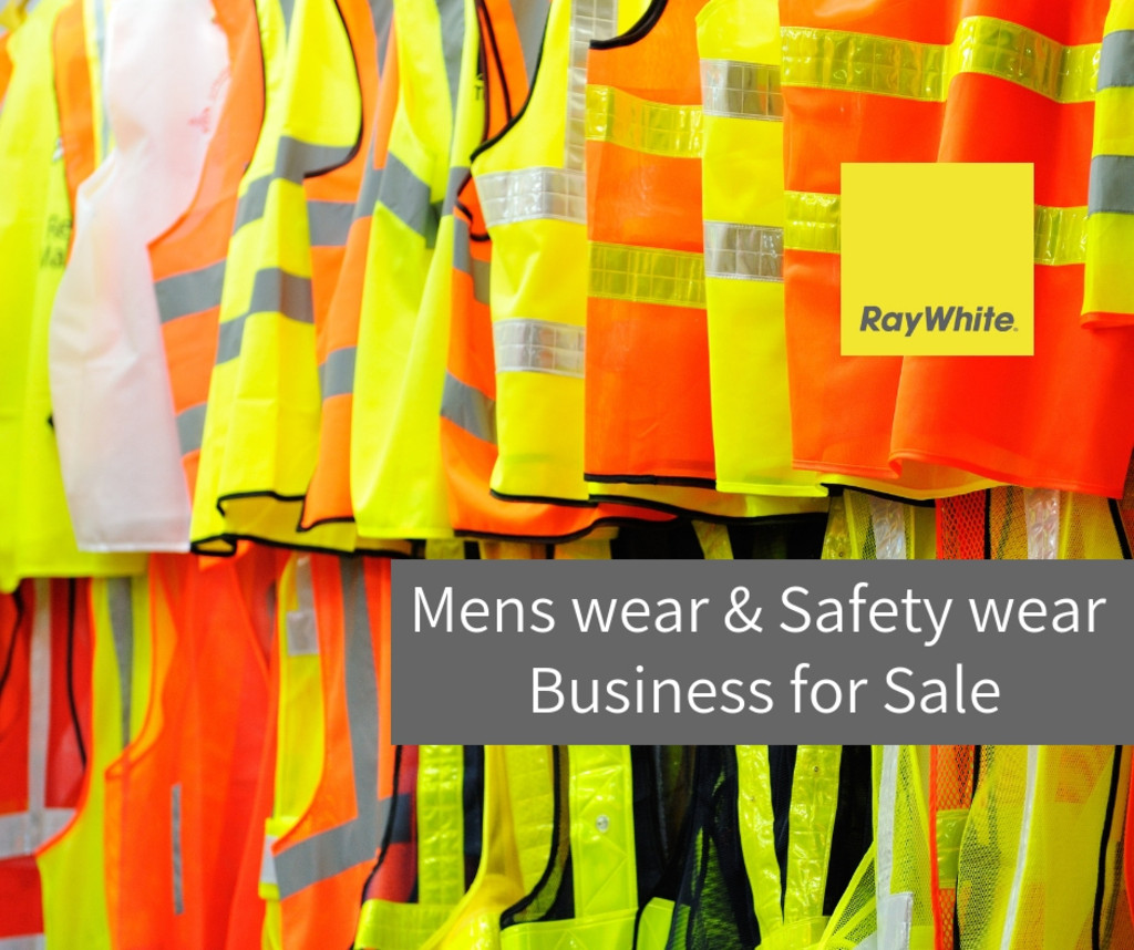Freehold profitable 5.5 days workwear and man's wear business for sale SA