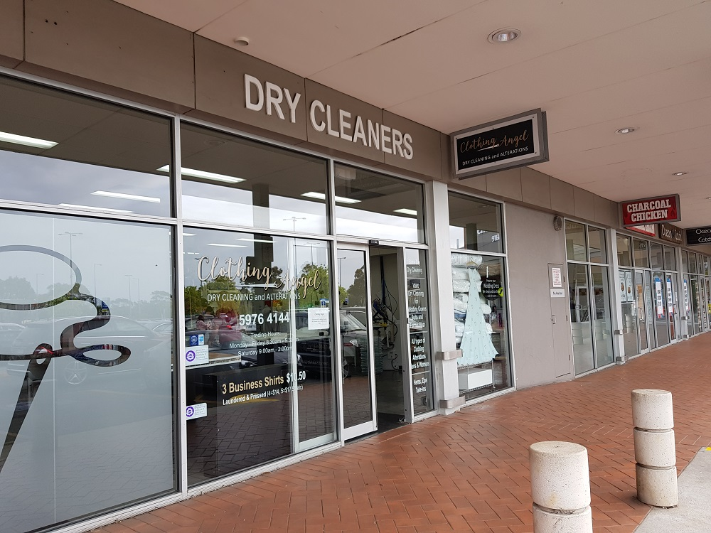 Clothing Angel - Mornington Dry Cleaning and Alterations legend