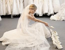 Absolutely gorgeous high end Canberra bridal boutique.