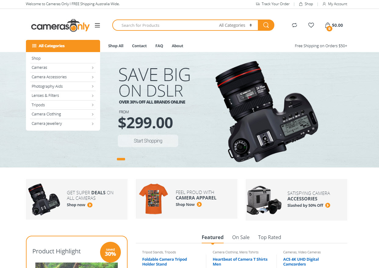 Camera Accessories Business Online