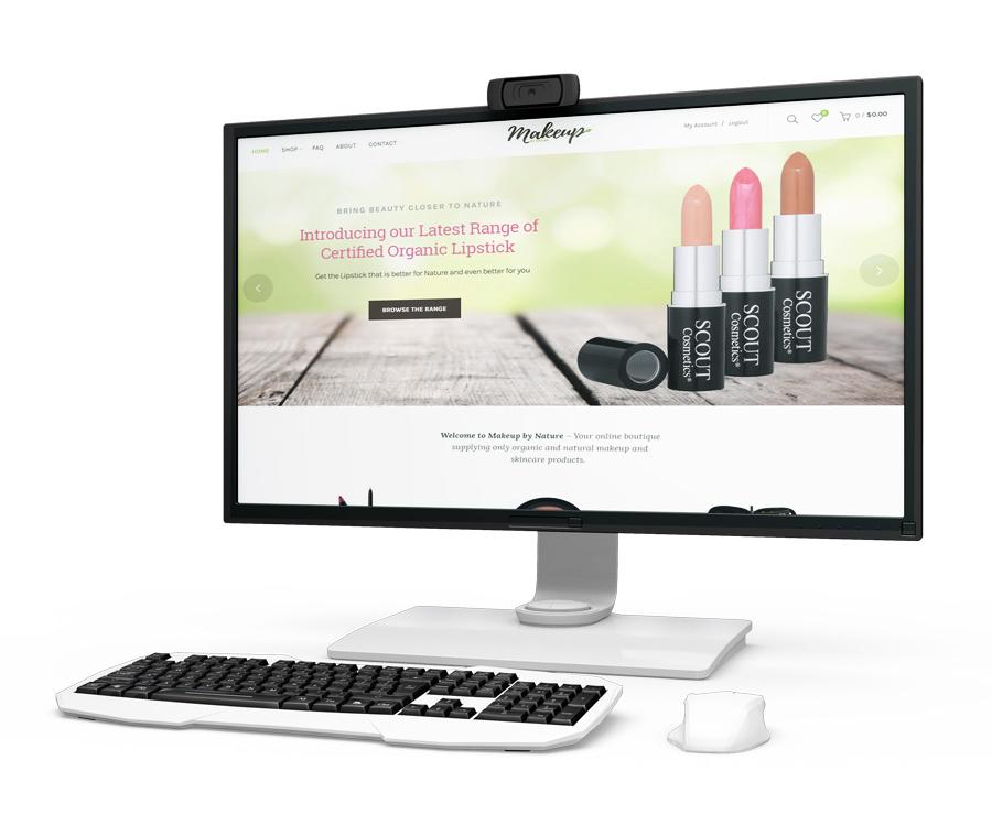 Online Natural Makeup Supplies Business