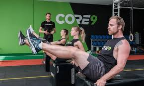 Core9 Fitness: 31min full body workout with military precision: Fortitude Valley
