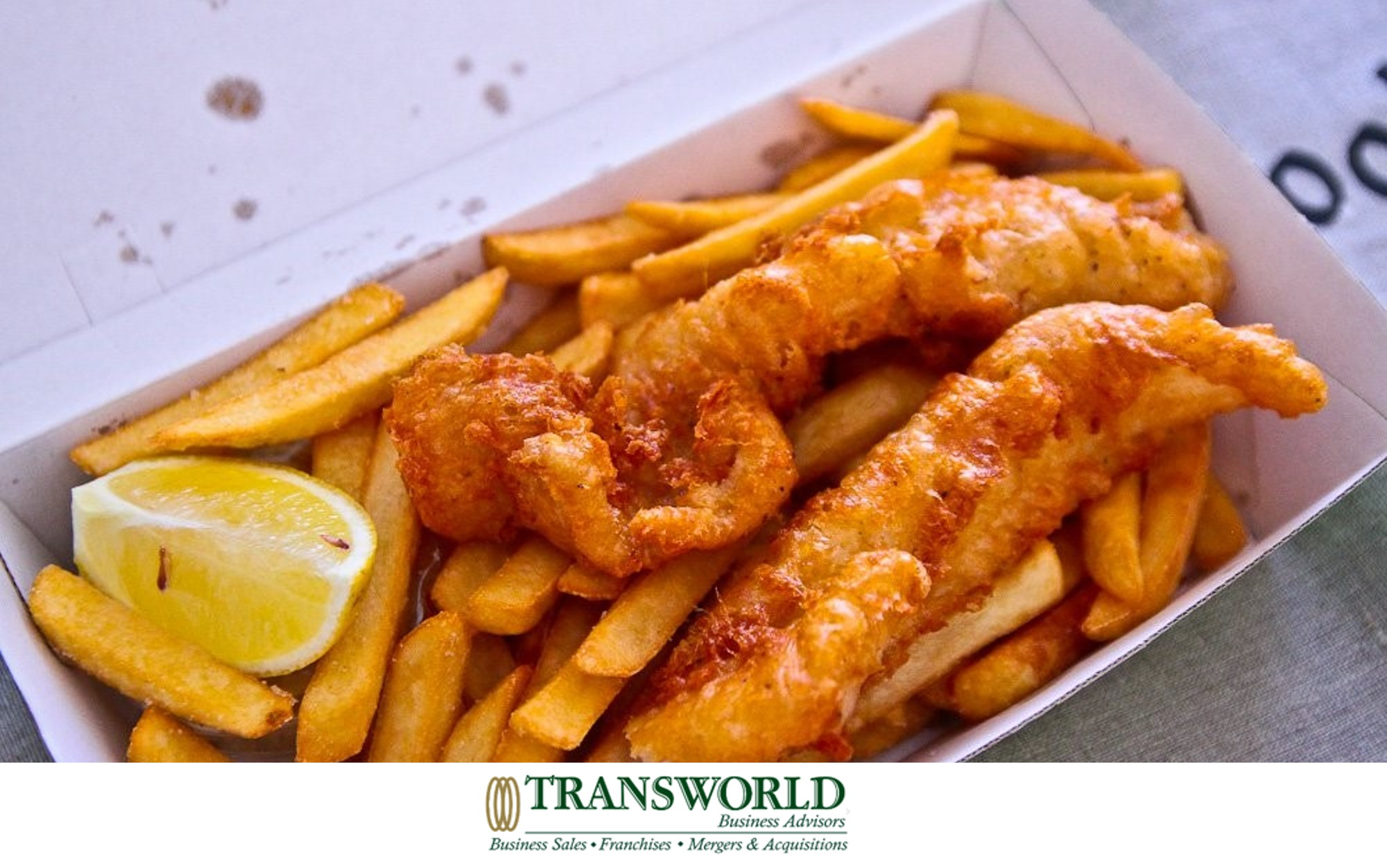 Takeaway Fish & Chips - Great Location Easily Run