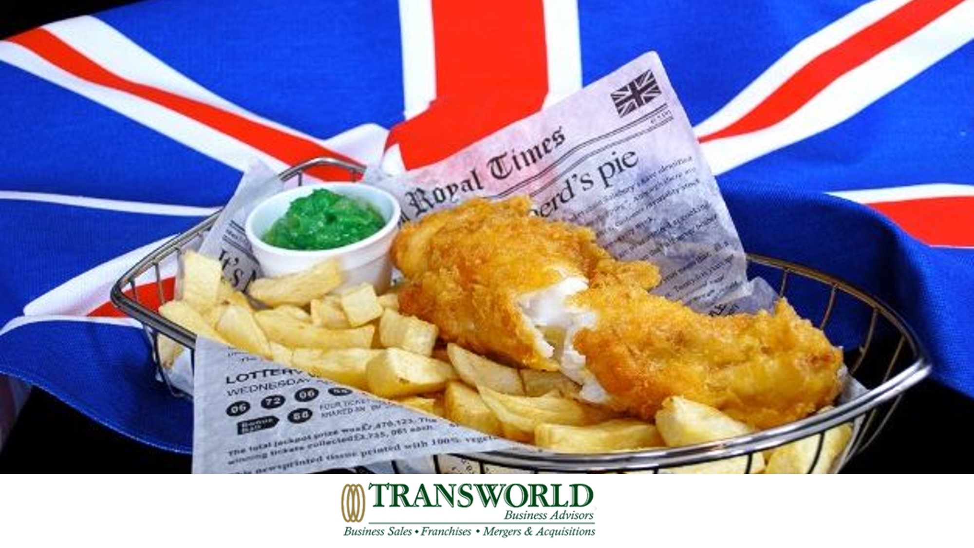 MASSIVELY REDUCED - Traditional British Theme Fish and Chip Shop
