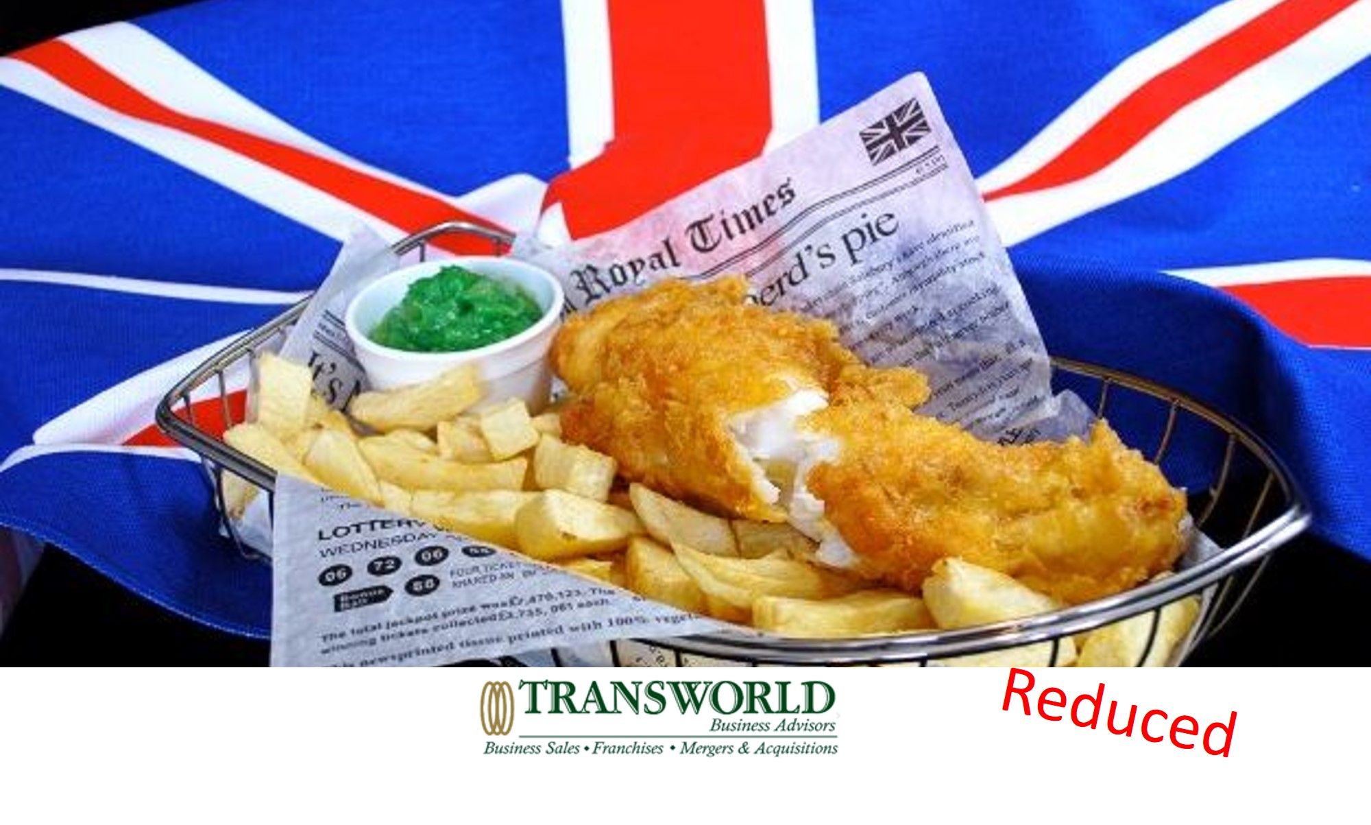 MASSIVELY REDUCED - Traditional British Fish and Chip Shop - NOT FRANCHISED