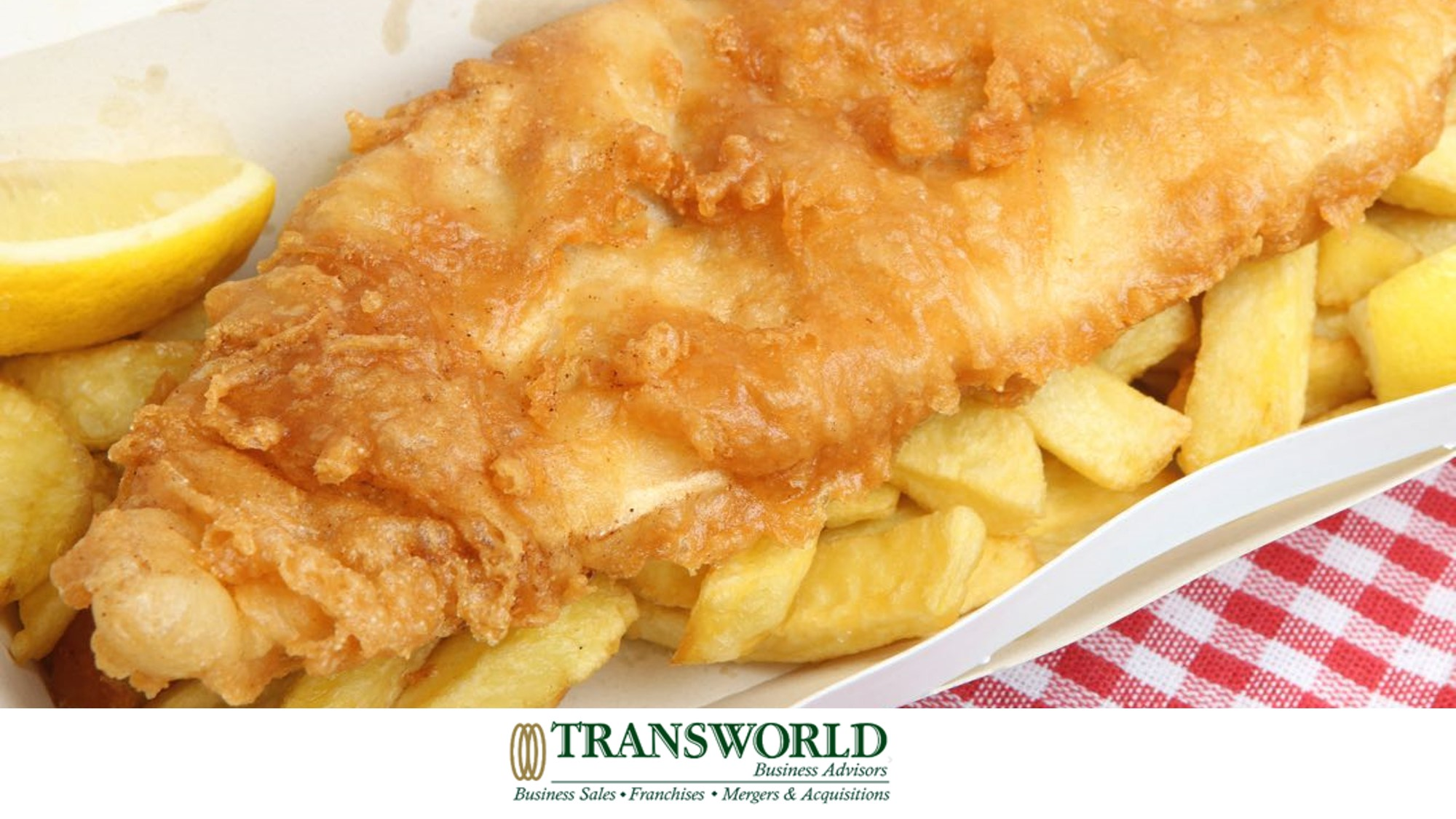 Fish and Chip Shop. Great location takeaway or casual dining