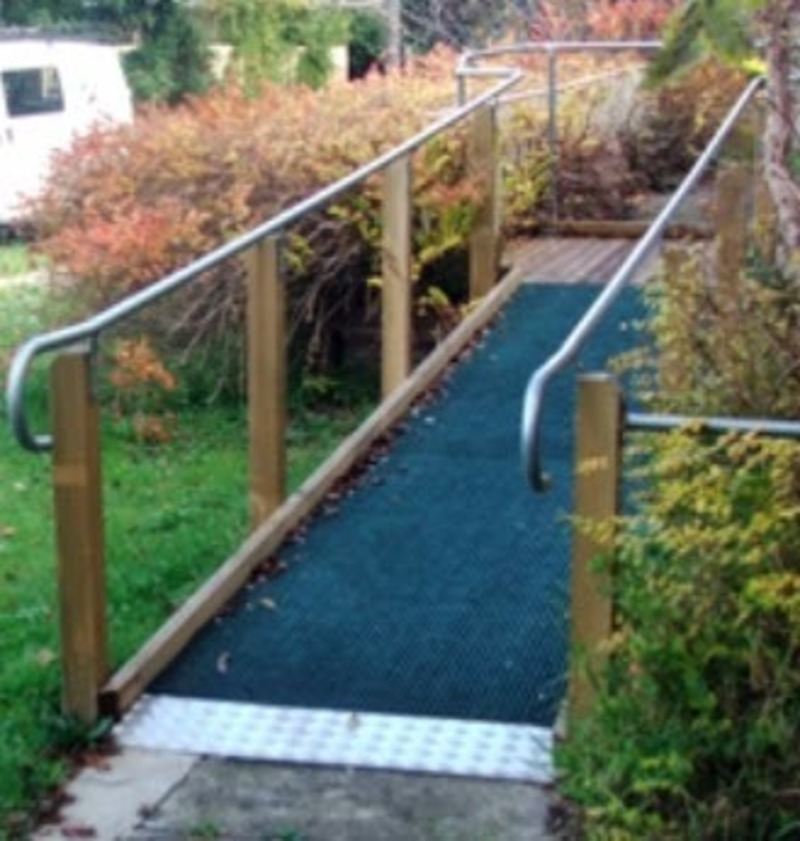 Hand Rails and ramps for aged care and disabilty sector