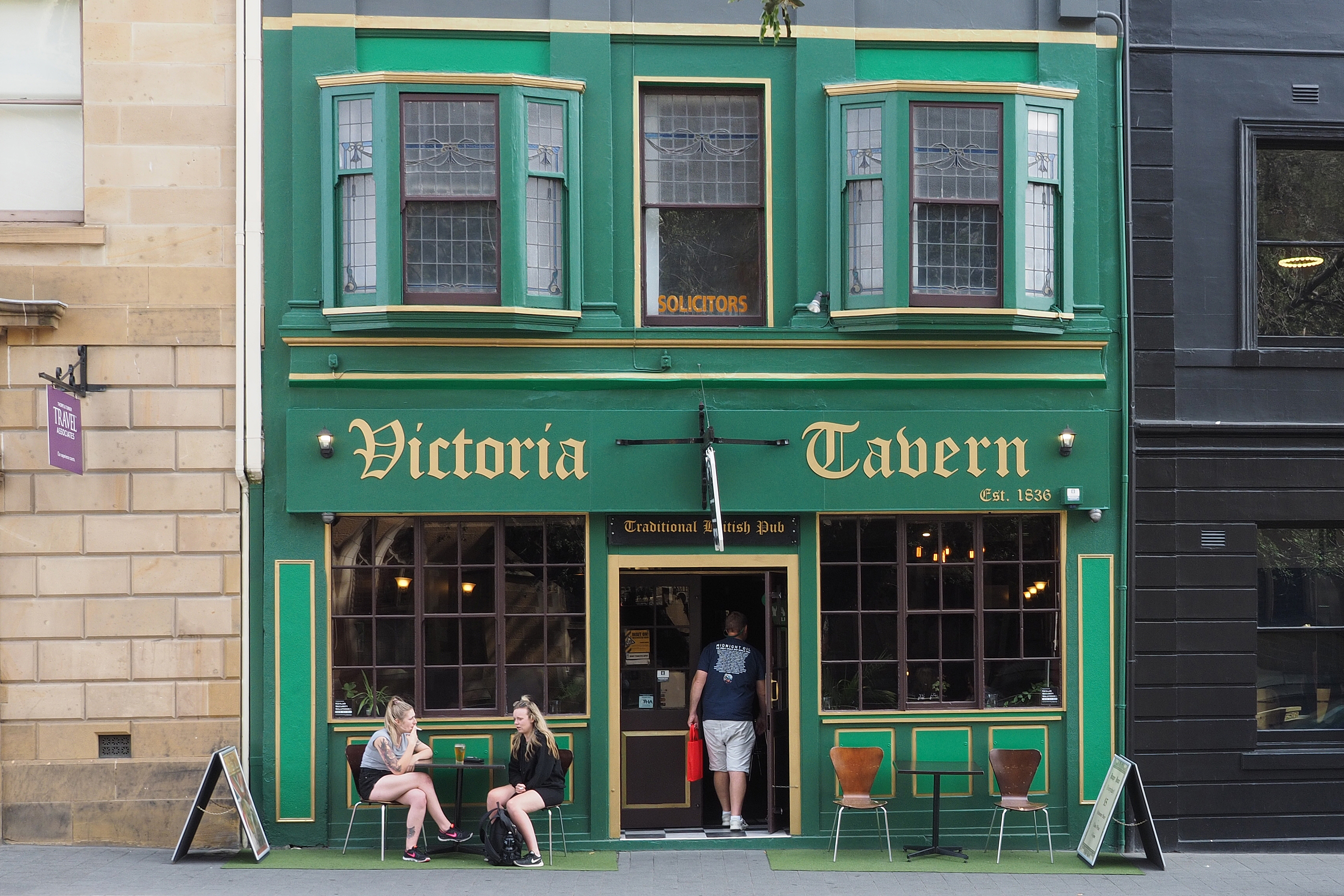 "A Hobart Institution ""The Victoria Tavern"