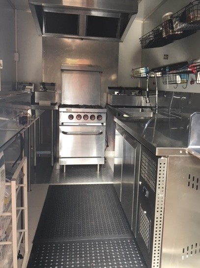 Food Trailer for sale Immaculate AS NEW– Versatille and practical fit-out $55K