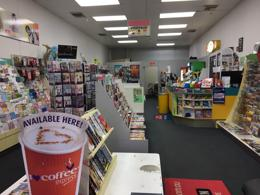 highly profit newsagency, Low Rent (with a self service Cafe Machine)