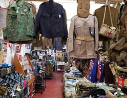 Only genuine Army Surplus shop in WA
