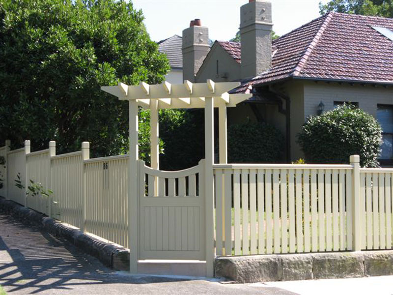 Timber Fences and Gates Custom Built