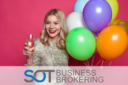 Enter the party and events industry at below cost!