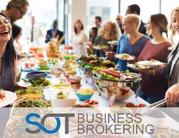 A diversified catering busines solid earning potential!