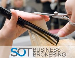 FULL SERVICE HAIRDRESSER, GREAT AREA BOASTING A WONDERFUL BASE OF LOYAL CLIENTS