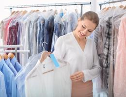 Dry cleaning business for sale under management