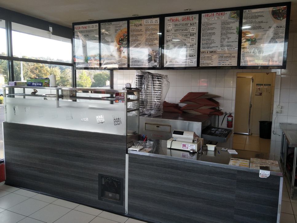 Pizza and pasta business for sale, exceptional location