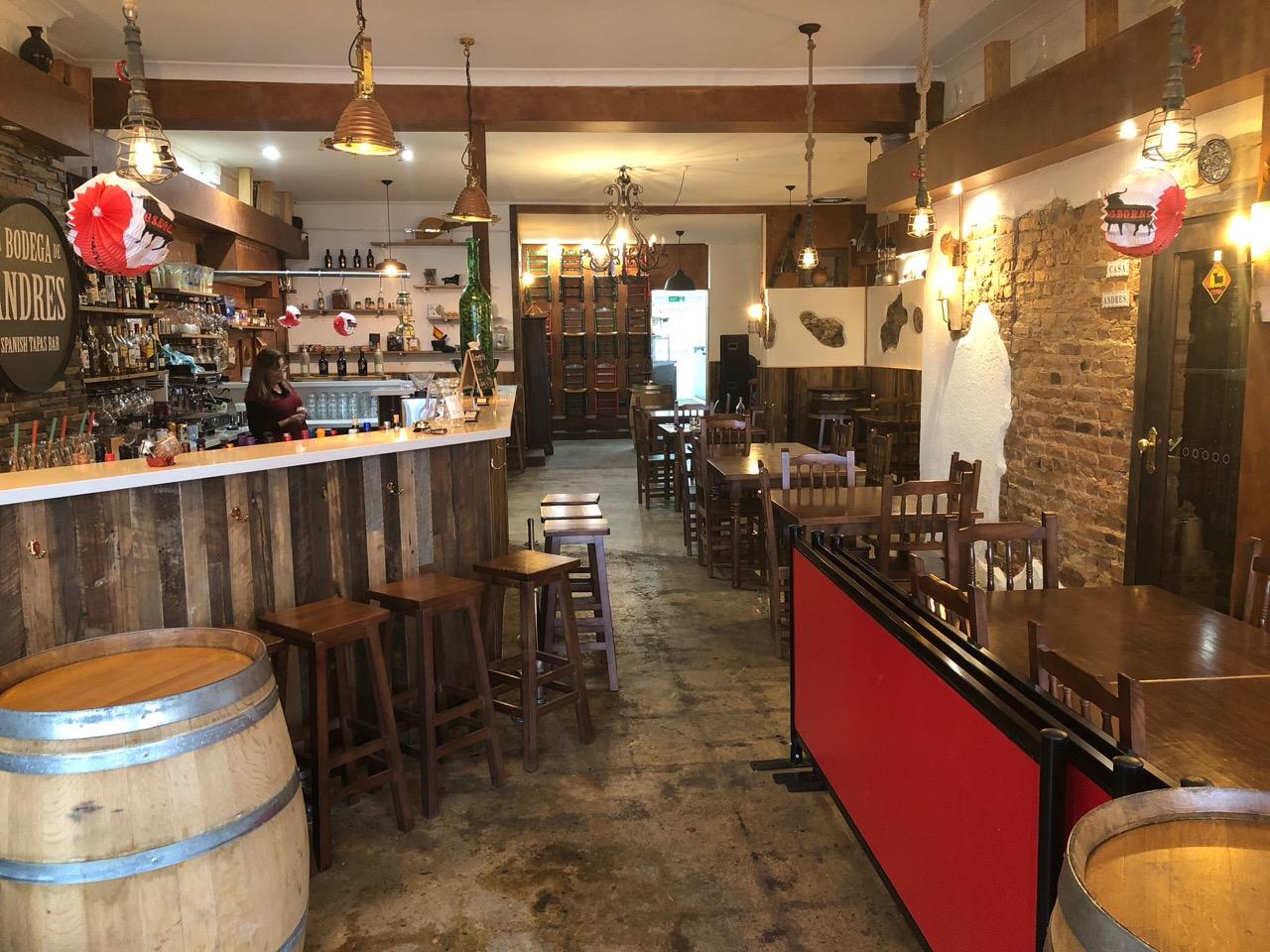 Spanish Tapas Restaurant Business For Sale