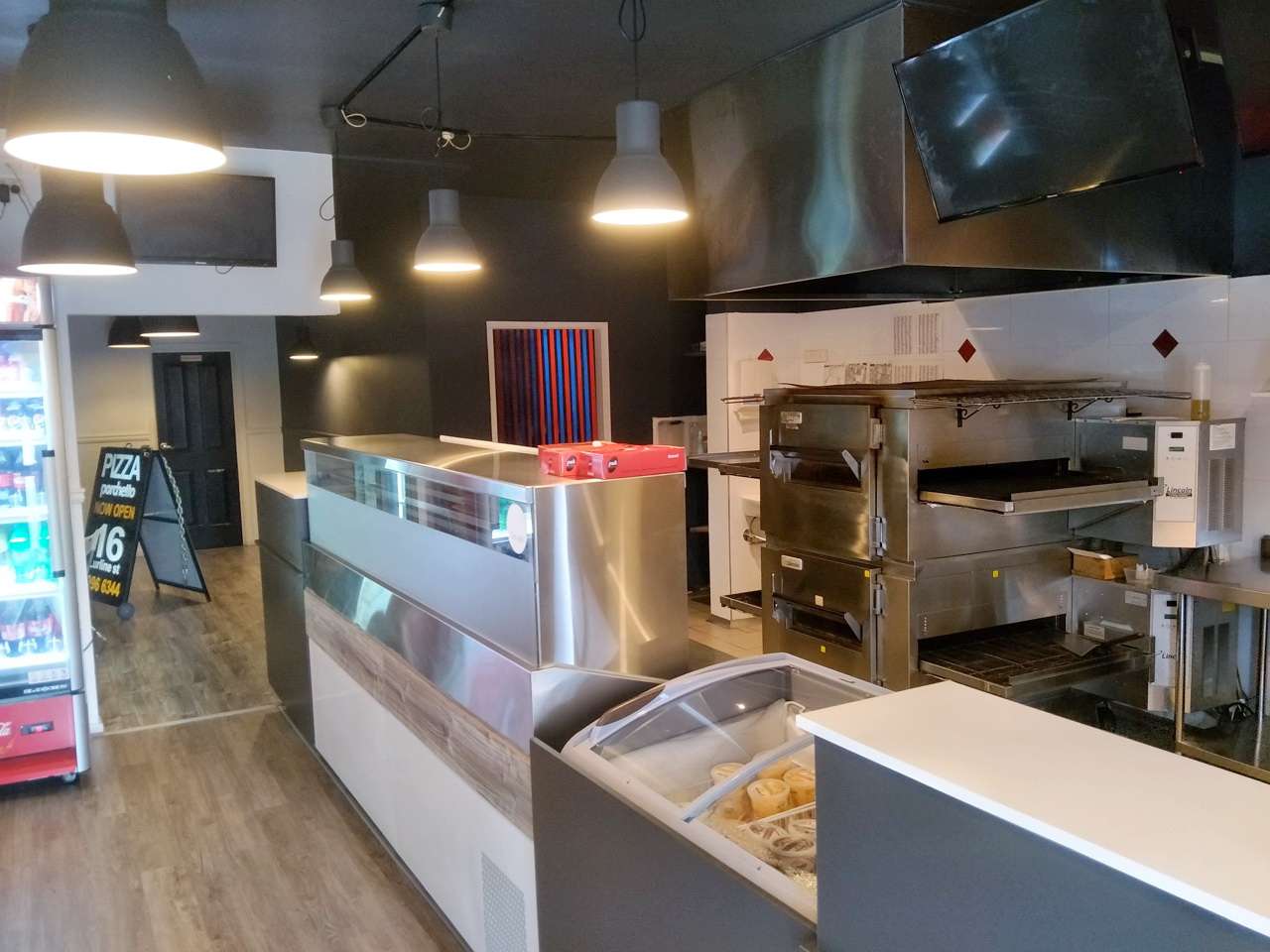 Pizza Takeaway Business for sale with great rent