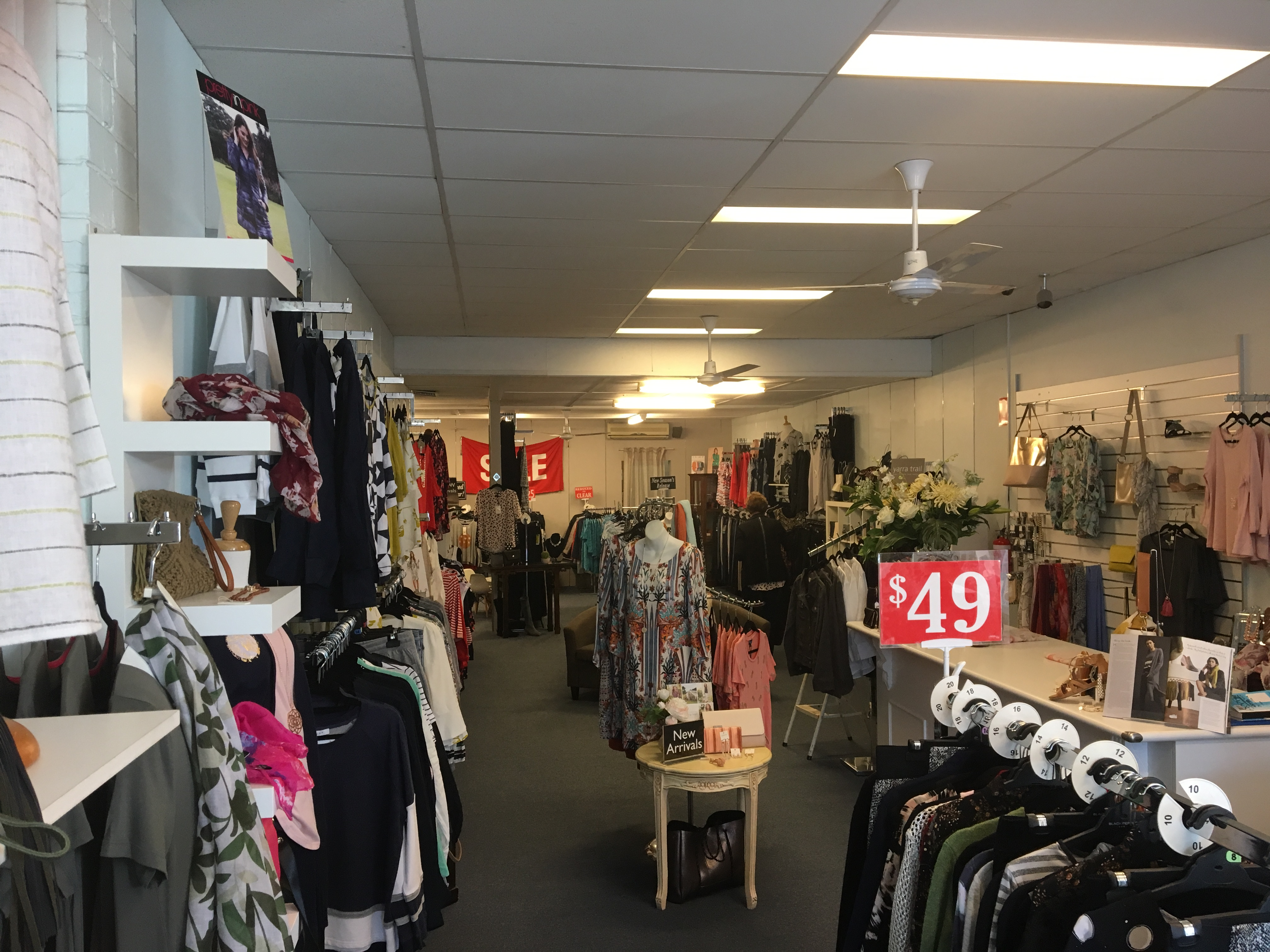 Retail Fashion Business for Sale