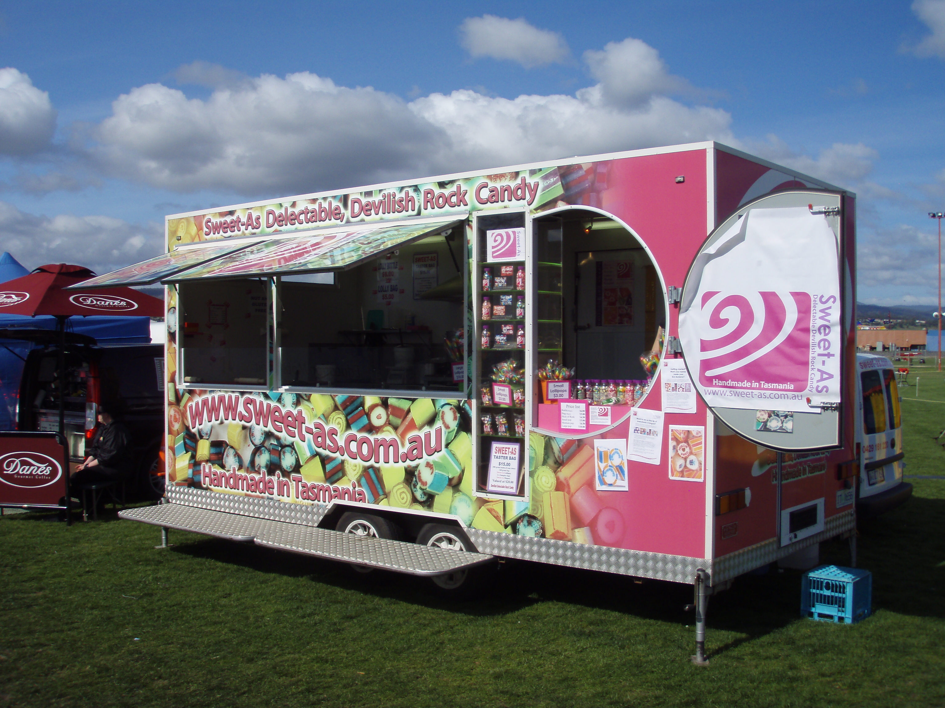 Confectionery Business - Custom Built Mobile Kitchen with retail space