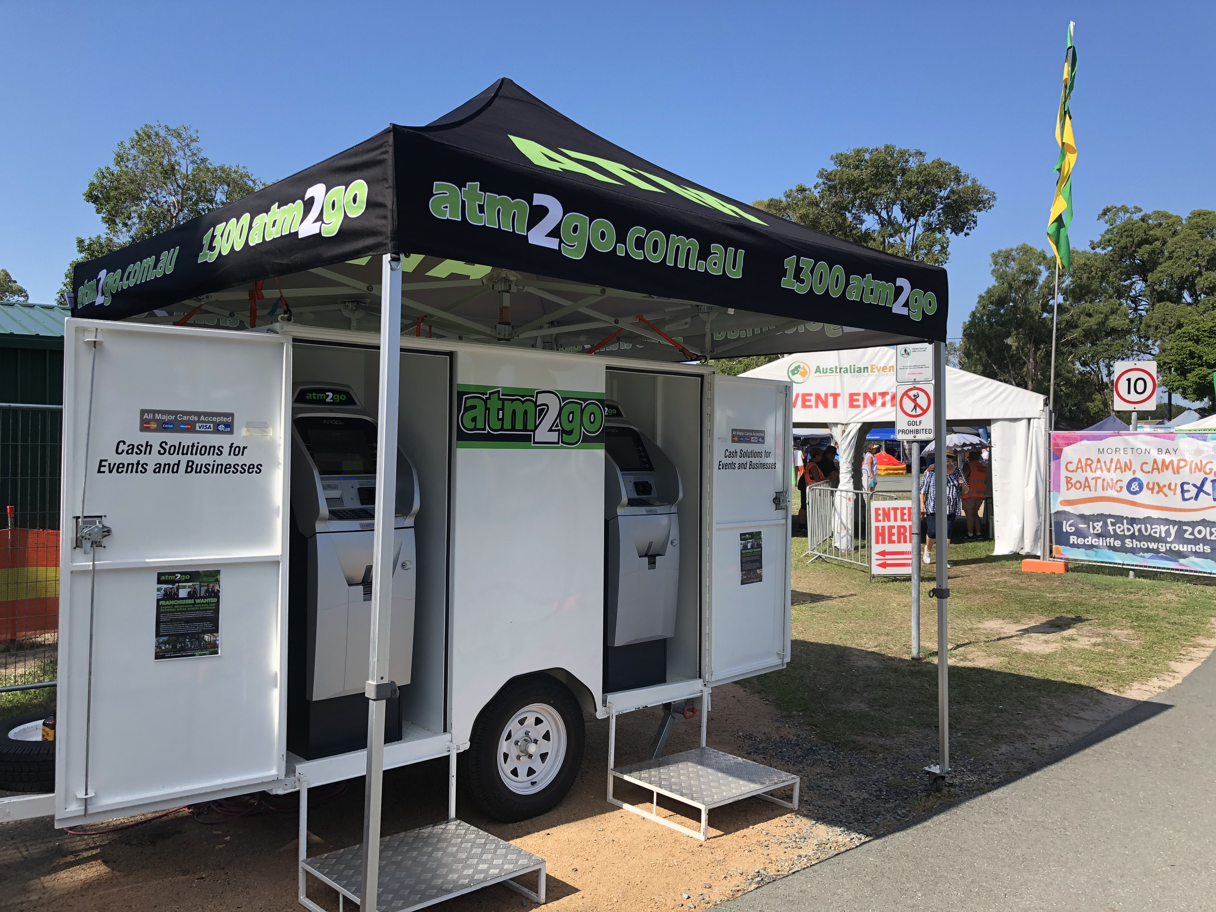Mobile ATM Franchise opportunity available in Outer West Sydney & Hills District