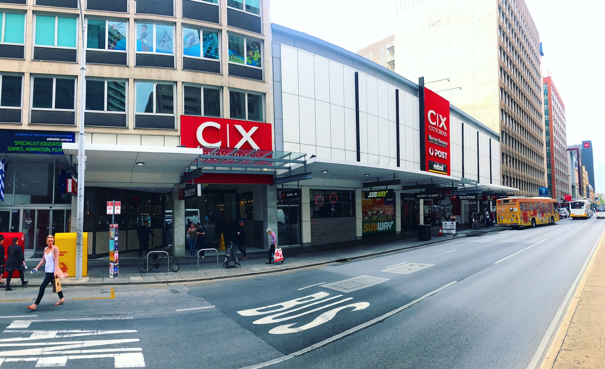 City Cross – Food, Beverage and Retail Opportunities in prime CBD location!
