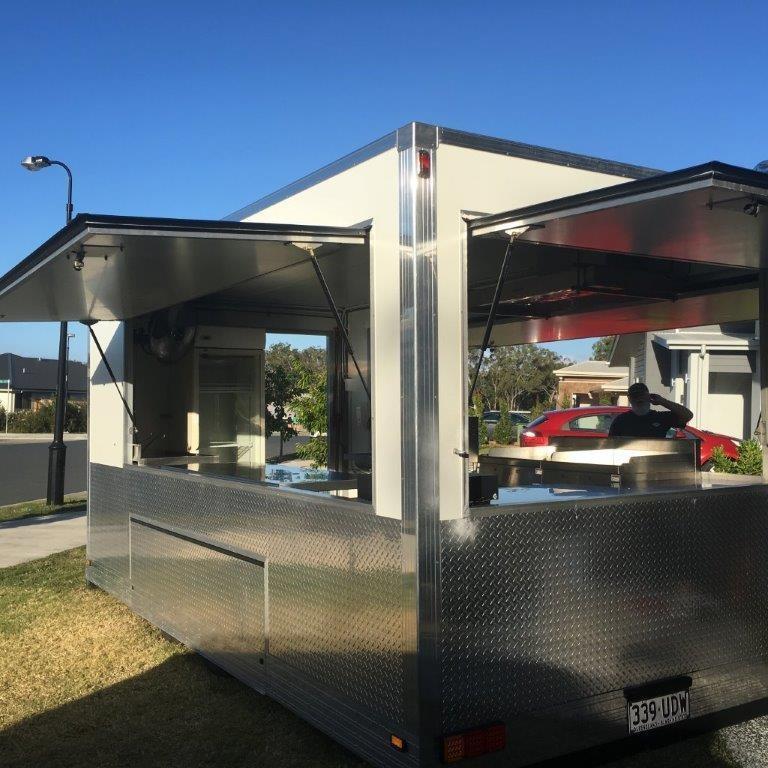Food Van for Mobile Cafe