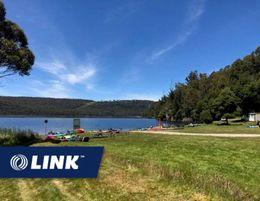 Wayatinah Lakeside Caravan Park Freehold 95% local tourism