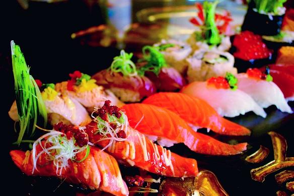 Beautiful Sushi Train Restaurant in the heart of Beecroft