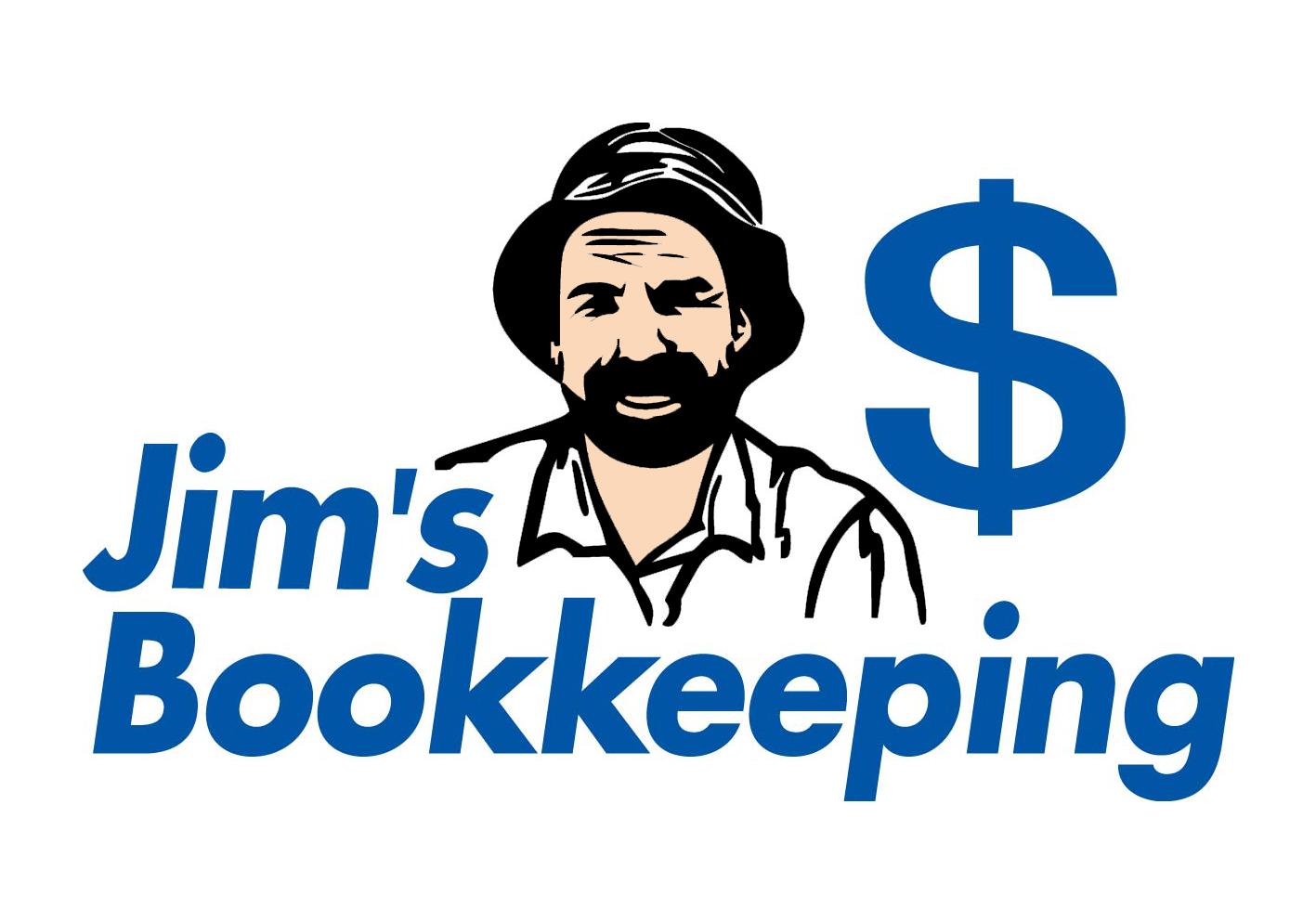 Jim's Bookkeeping Logo