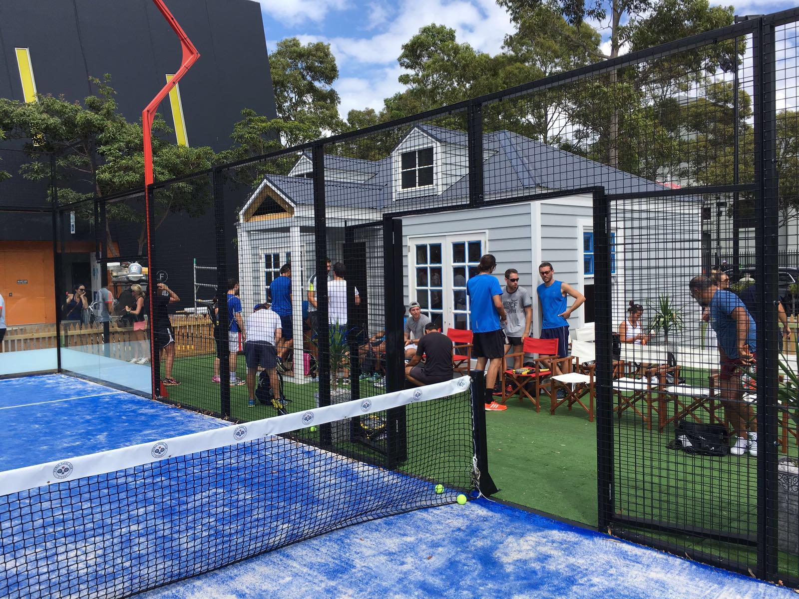 Padel Tennis business - fast growing sport