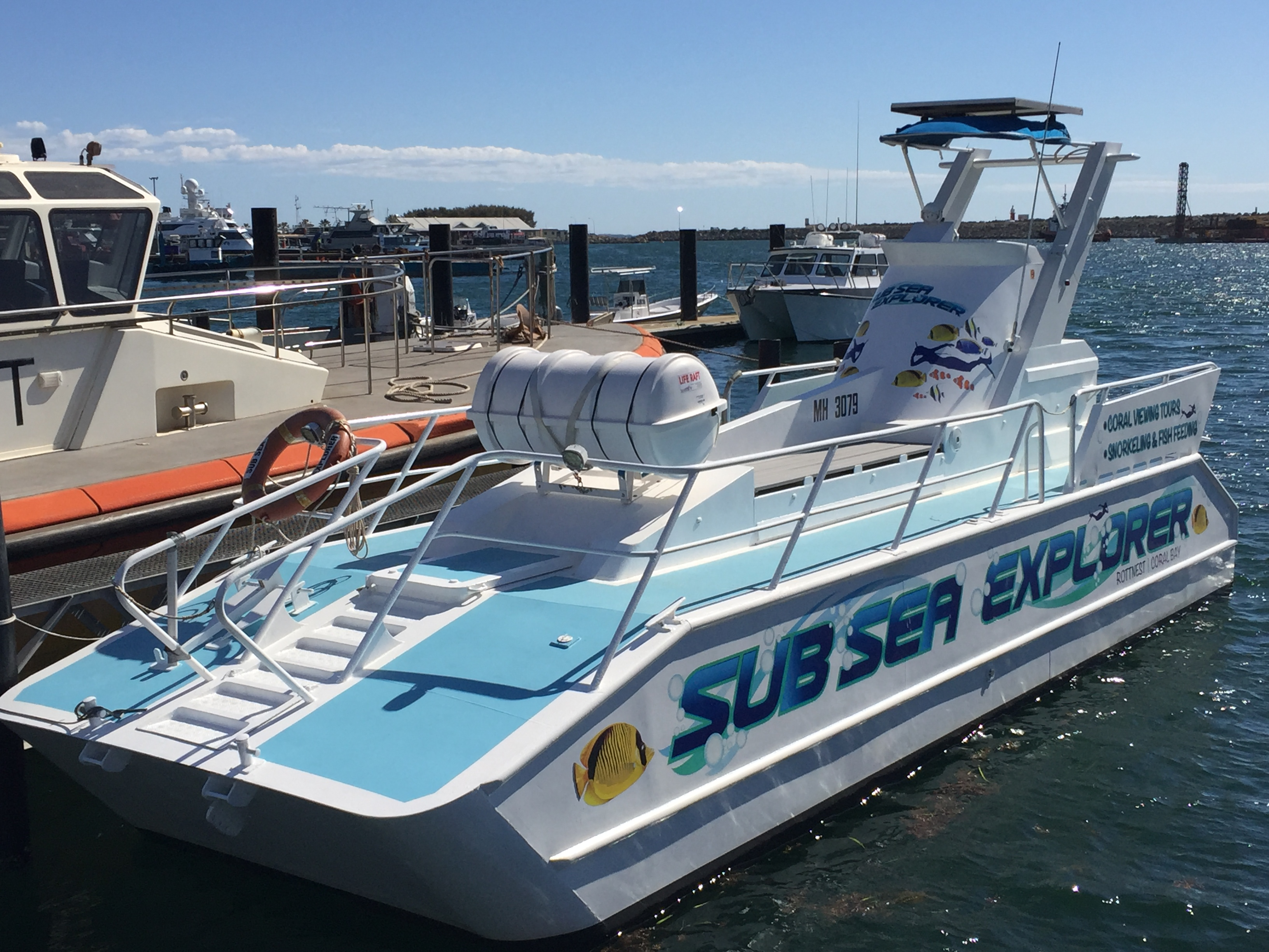 Marine Tourism business for sale, Rottnest Island & Coral Bay
