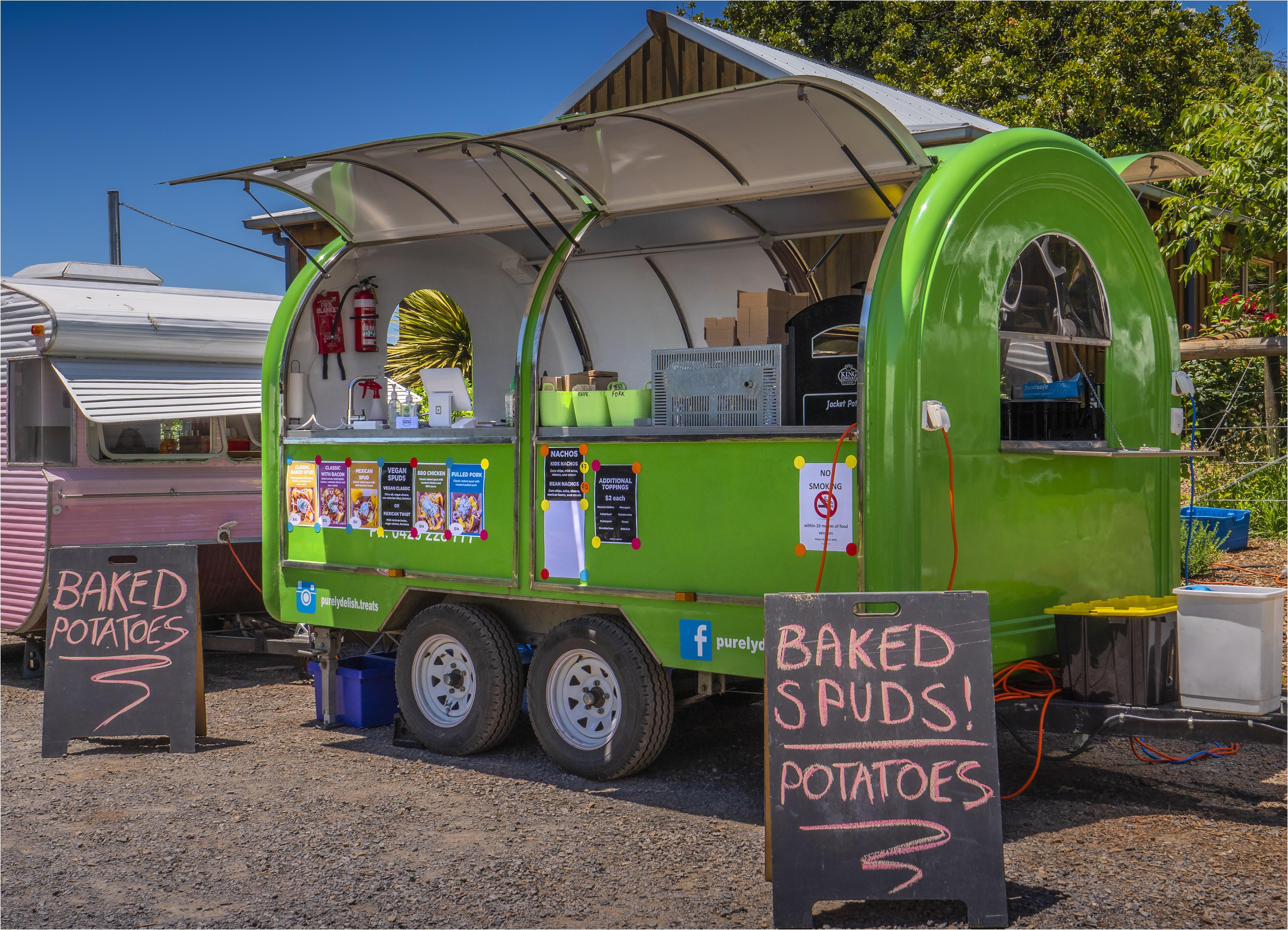 Mobile Food Vendor Food Truck Food Van