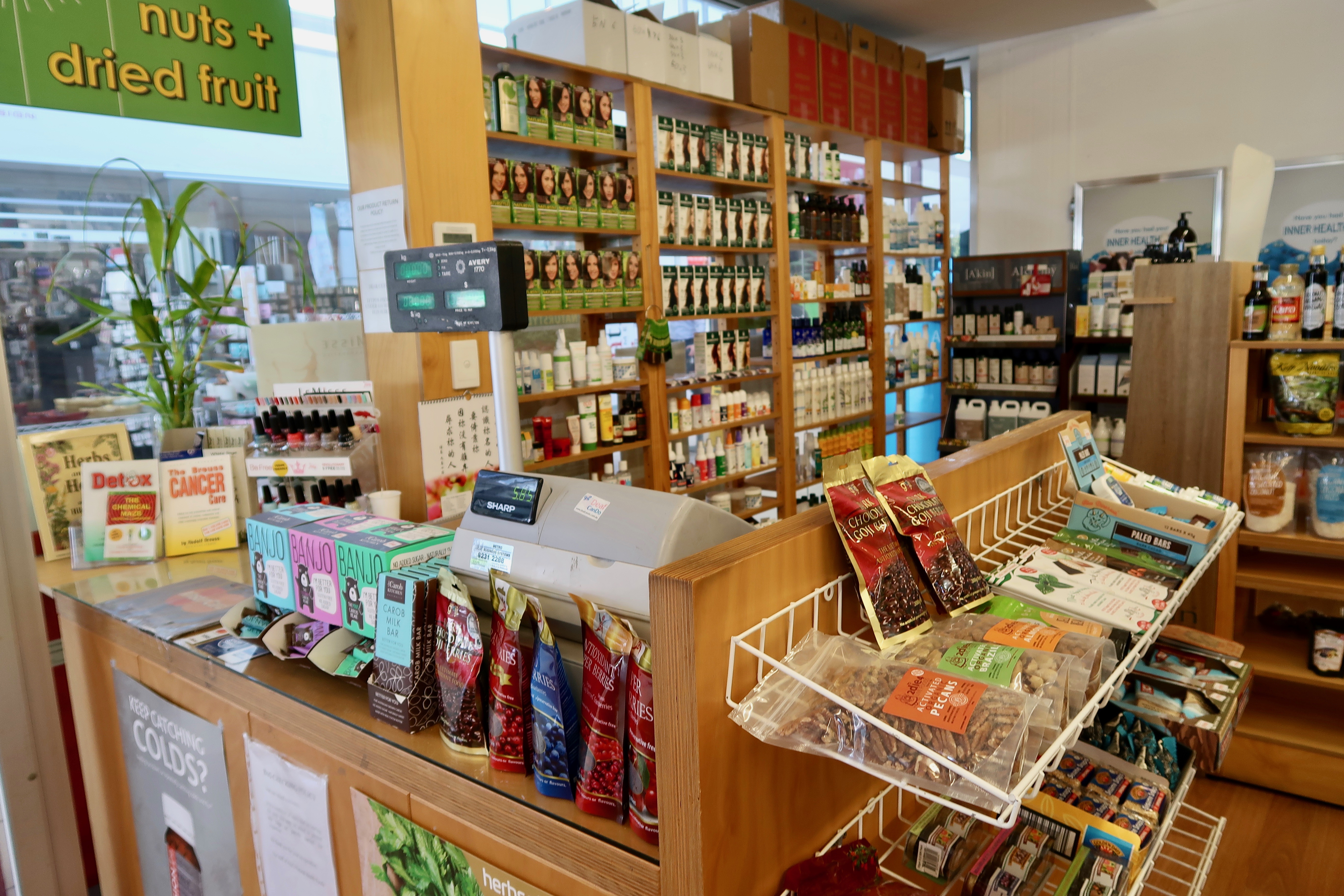 Long-established Health Food Store for sale in the Western suburbs