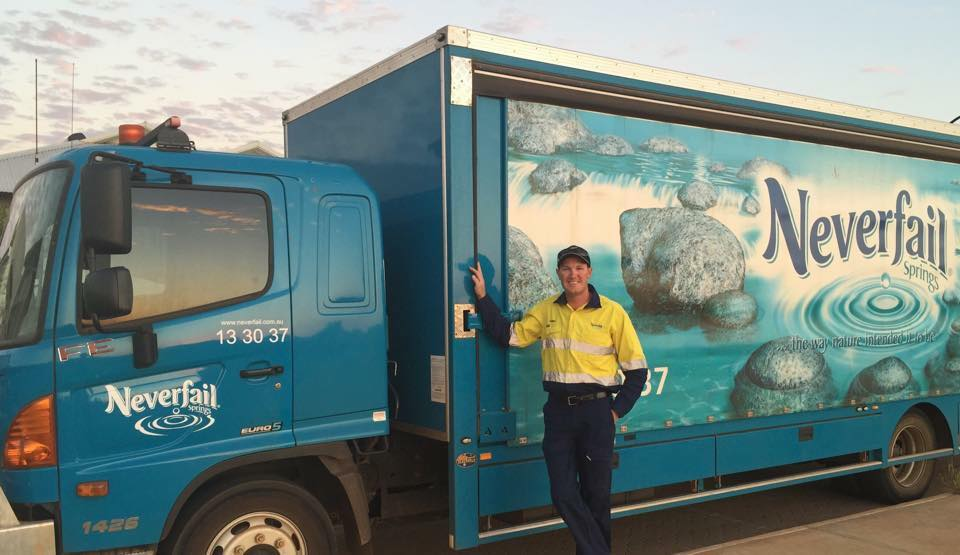 Bottled water distribution rights - Karratha and surrounds