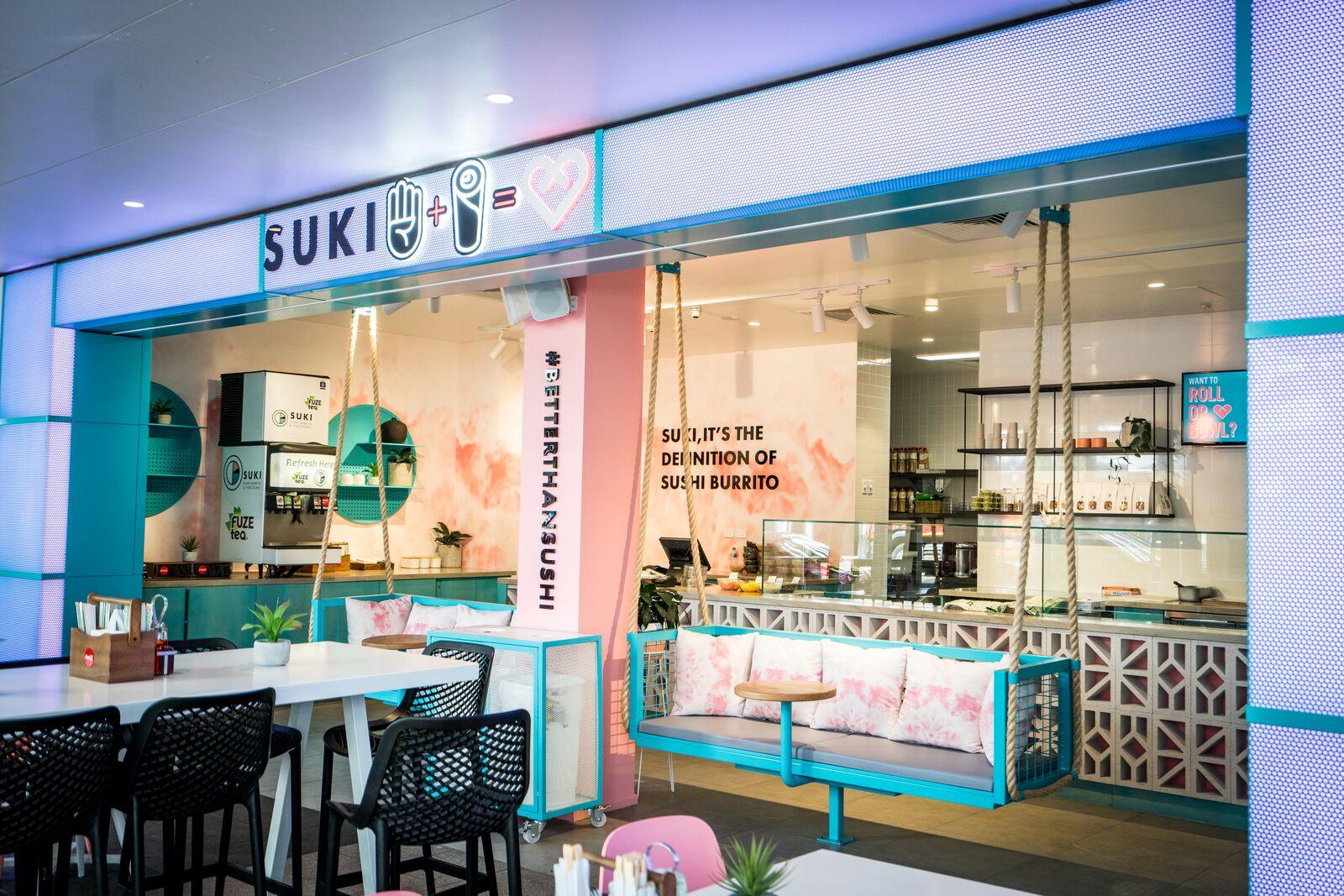 SUKI Poké bowls & Sushi Burrito's - ACT Development Agent