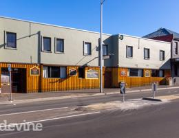 Hotel Venue in North Hobart. Commercial Kitchen + Bar + Accommodation