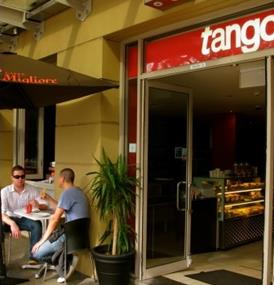 Tango Espresso cafe - Arguably the best coffee in Pyrmont