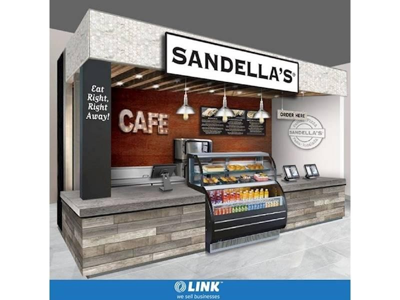 Sandellas Flatbread Cafe Kiosk Franchise - Coming to Australia