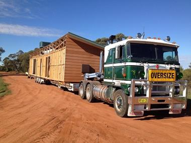 UNDER MANAGEMENT, TRANSPORTABLE HOMES BUILDING & INSTALLATION, REGIONAL NSW