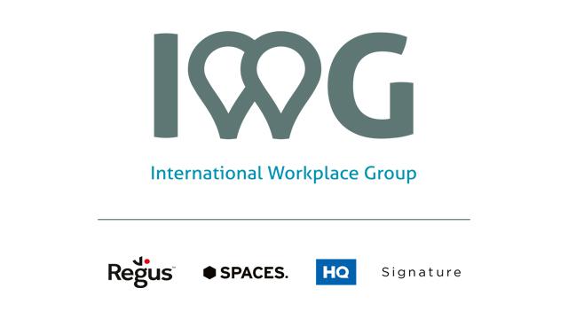 IWG plc - Change your working world Logo