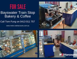 Bakery & Lunch Bar For Sale in Bayswater!